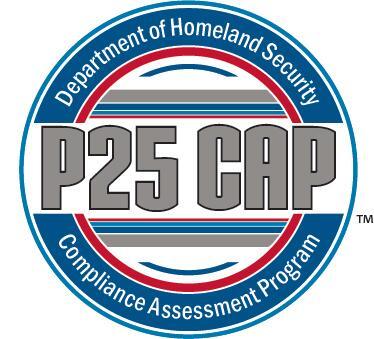 Department of Homeland Security Compliance Assessment Program P25 CAP logo 80c79dcf9a6