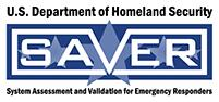 U.S. Department of Homeland Security, System Assessment and Validation for Emergency Responders - SAVER