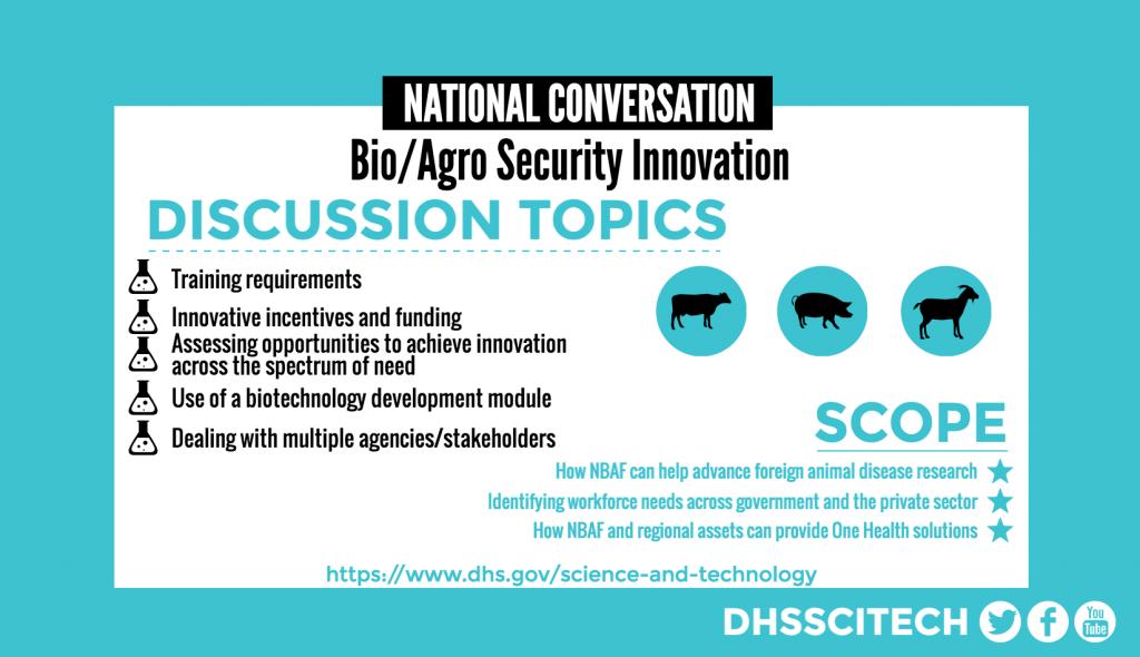 Bio/Agro Security Innovation | Homeland Security