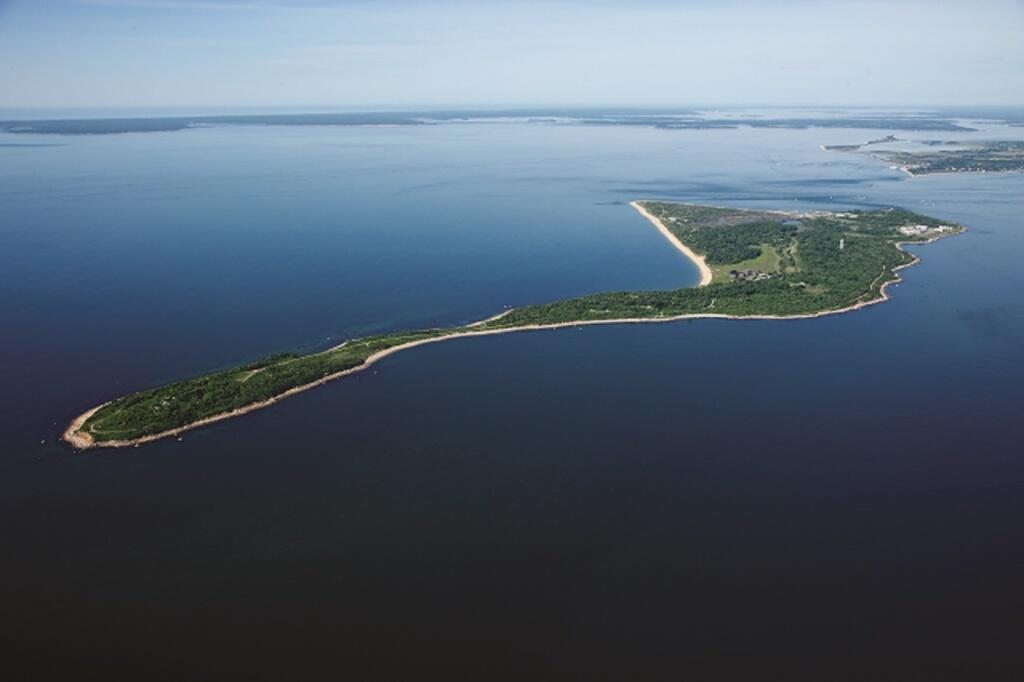 Plum Island Animal Disease Center Aerial View