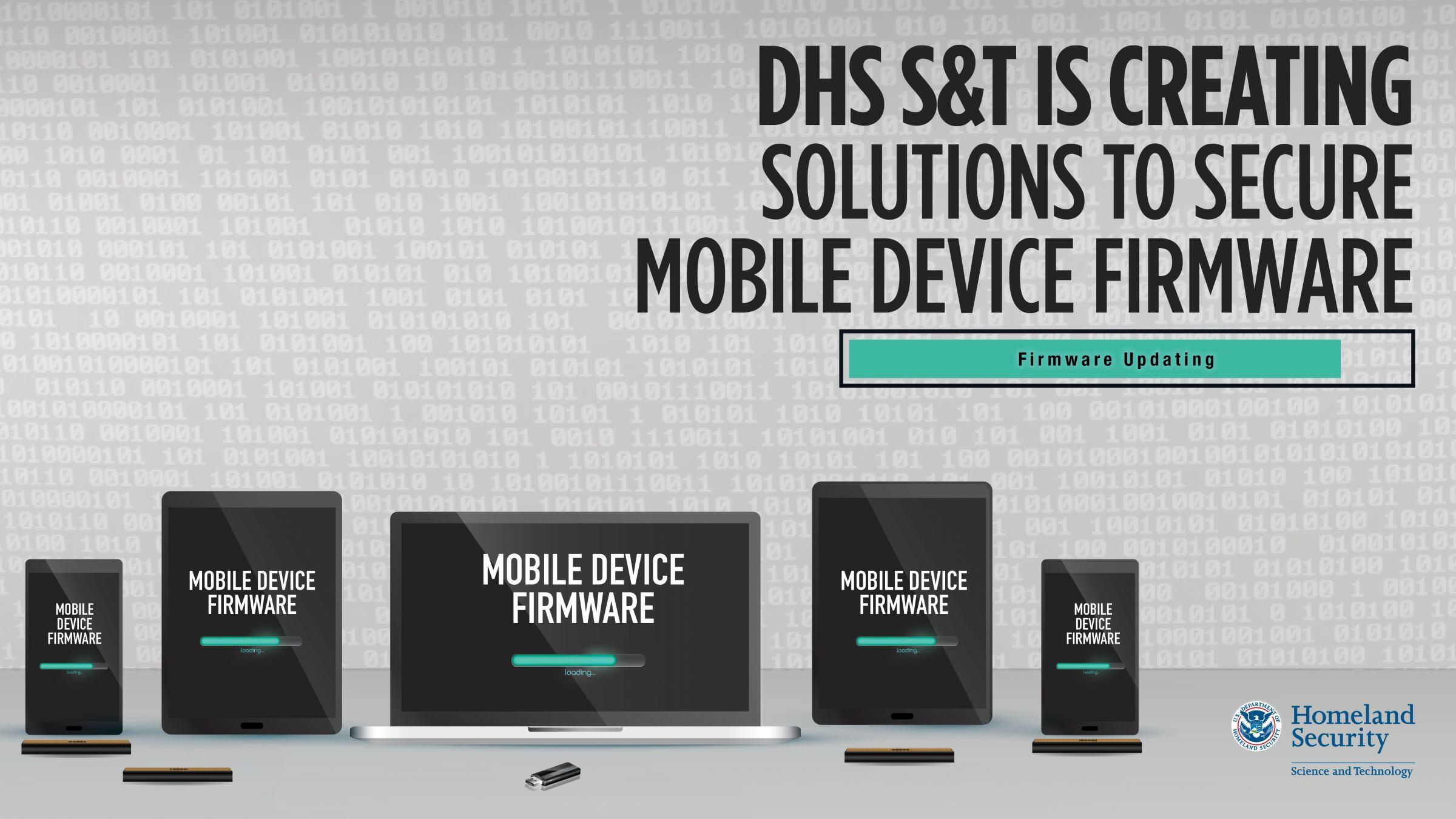 News Release: S&T Announces Four SBIR Awards to Secure Mobile Device