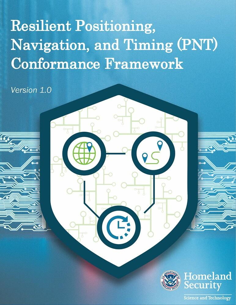 Resilient Positioning, Navigation, and Timing (PN) Conformance Framework, Version 1.0 report cover.