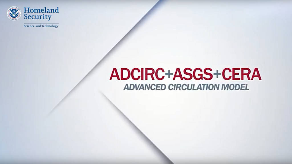ADCIRC + ASGS + CERA + Advanced Circulation Model