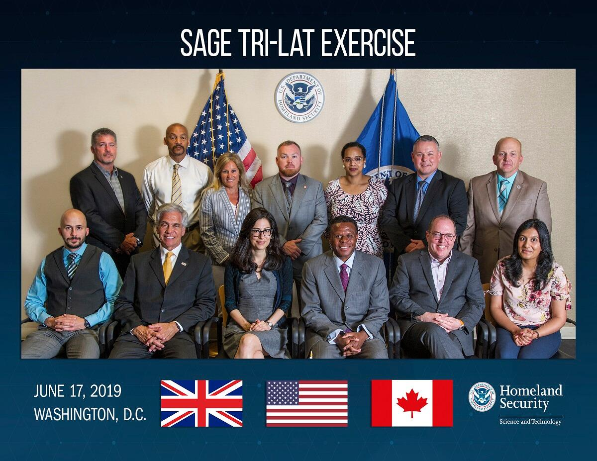 SAGE Trilateral exercise. June 17, 2019 Washington, D.C.