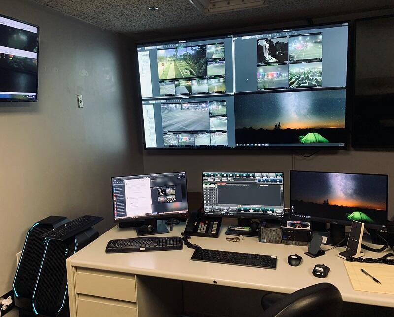 Inglewood Police Department uses B4PS to stream live video from their Real-Time Crime Center to their field officers.