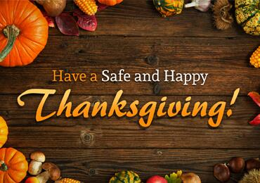 Have a Safe and Happy Thanksgiving | Homeland Security