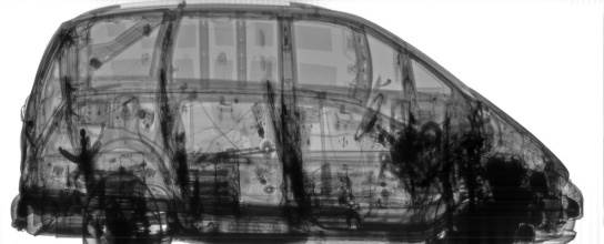 An Xray of a car