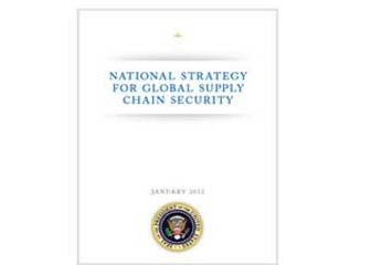 National Strategy for Global Supply Chain Security Cover