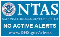 National terrorism advisory system (NTAS) icon