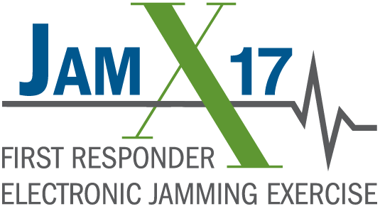 JamX 17 -- First Responder Jamming Exercise Logo