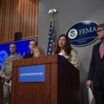 Department of Homeland Security Acting Secretary Elaine Duke, Department of Energy Secretary Rick Perry, FEMA Administrator Brock Long, and other senior officials update the media on federal response efforts following Hurricane Irma.