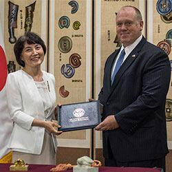 ICE Returns Valuable Royal Seals to South Korea
