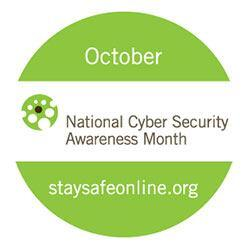 2017 National Cybersecurity Awareness Month Logo