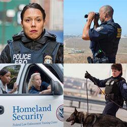 Image of DHS Law Enforcement personnel