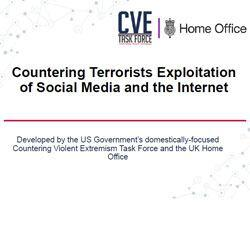"DHS Announces the Launch of the ""Countering Terrorists Exploitation of Social Media and the Internet"" Training"