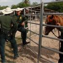On April 7, 2016, Deputy Secretary Alejandro Mayorkas met with U.S. Customs and Border Protection's Horse Patrol for an operational briefing of capabilities, technologies, and day-to-day work in the Rio Grande Valley.