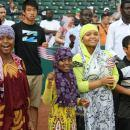 Children Naturalized at Delta Dental Stadium (USCIS)