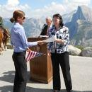 Naturalization Ceremony at Yosemite National Park (USCIS)