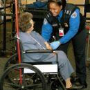 TSO Assists Elderly Passenger (TSA)