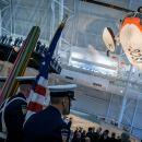 First U.S. Coast Guard aircraft unveiled in The Smithsonian Air and Space Museum collection