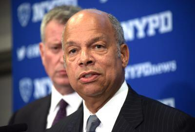Secretary Johnson at One Police Plaza