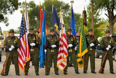 U.S. Border Patrol's Del Rio Sector Honor Guard