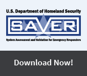 U.S. Department of Homeland Security. System Assessment and Validation for Emergency Responders. Download Now!