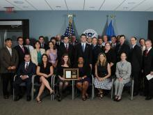 2012 ICE Director's DHS Partner Award recipients