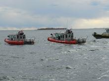 DNDO and USCG Sector New York coordianted with law enforcement and first responders on this exercise.