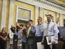 Immigrants Begin New Journey as U.S. Citizens at Treasury Ceremony
