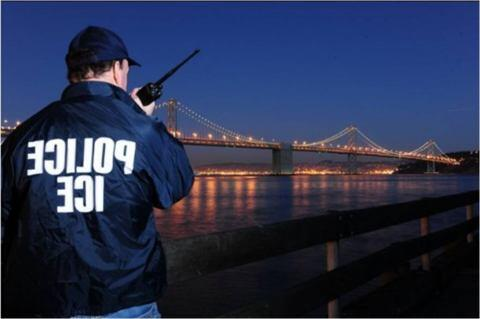 Surveillance Work at the Oakland Bay Bridge