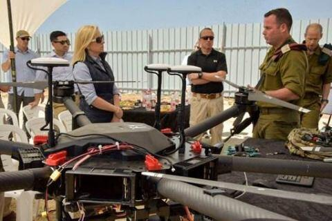 Secretary Kirstjen M. Nielsen Recieves Operational Briefing on Israeli Secuirty Technology