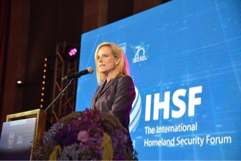 Secretary Nielsen Delivers Remarks at International Homeland Security Forum