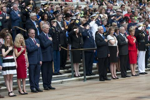 Secretary Kelly Attends Memorial Day in Arlington
