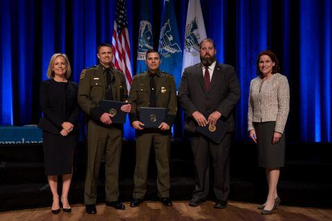 The Secretary's Award for Unity of Effort 2018 - NATIVE Operation Rocky Top Team - U.S. Immigration and Customs Enforcement