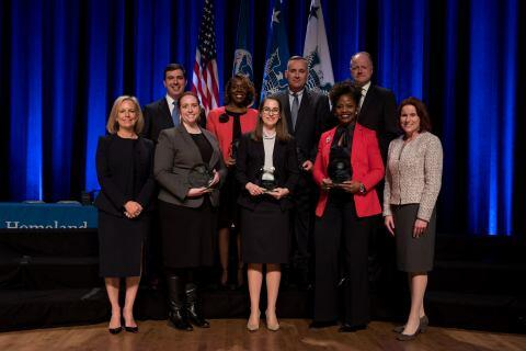The Secretary's Award for Excellence 2018 - Technical Law Enforcement Development Team - U.S. Secret Service