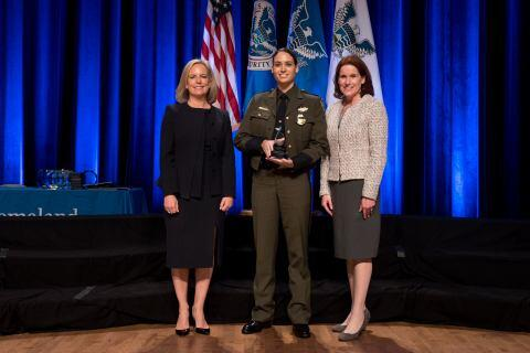 The Secretary's Award for Exemplary Service 2018 - Gabriela Nunez - U.S. Customs and Border Protection