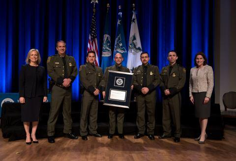 The Secretary's Unit Award 2018 - CBP Grupo Conjunto de Inteligencia Fronteriza Team - U.S. Customs and Border Protection