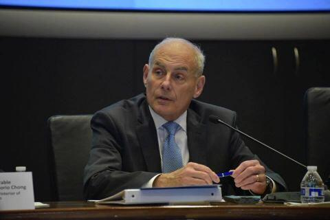 Secretary John Kelly at the Conference on Prosperity and Security in Central America