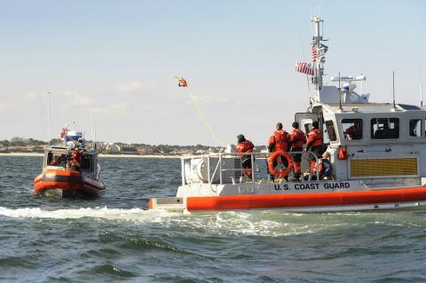 Response Boat Training in Chesapeake Bay (USCG)