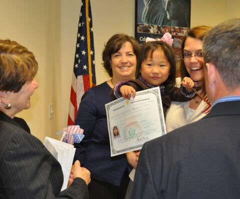 Adopted Children's Naturalization Ceremony (USCIS)