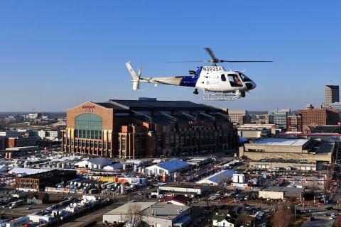 CBP Provides Air Support at Superbowl XLVI