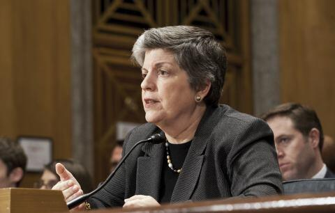 Secretary Napolitano Testifies Before Senate (HQ)