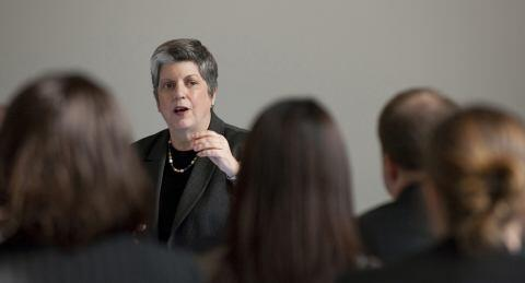 Secretary Napolitano Speaks to Emerging Leaders (HQ)