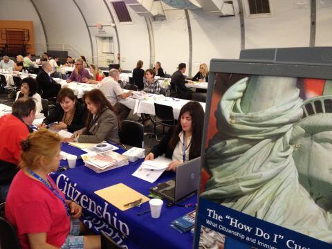Participating In Community Outreach Event (USCIS)