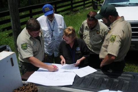 FEMA Collaborates during Preliminary Damage Assessment
