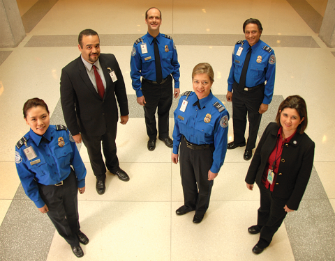 TSA Threatens Opt Out Journalist With Arrest 2012 tsa tso new uniform