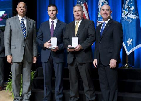 The Secretary's Meritorious Service Award 2014 - John Havranek and Kevin McAleenan