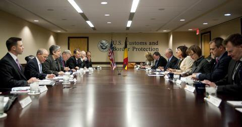 Secretary Napolitano's meeting with US Customs and Border Protection