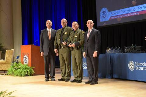 The Secretary's Valor Award 2015 - Operation Pandemonium Team